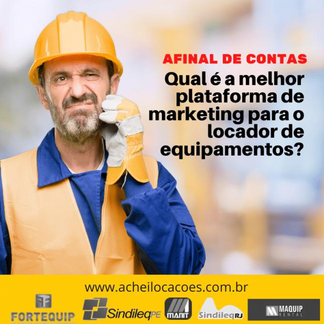Qual a melhor plataforma de marketing para o locador?