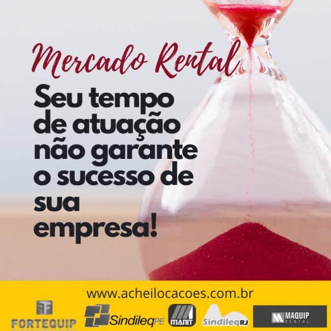 Seu tempo de mercado rental não garante o sucesso de sua empresa!