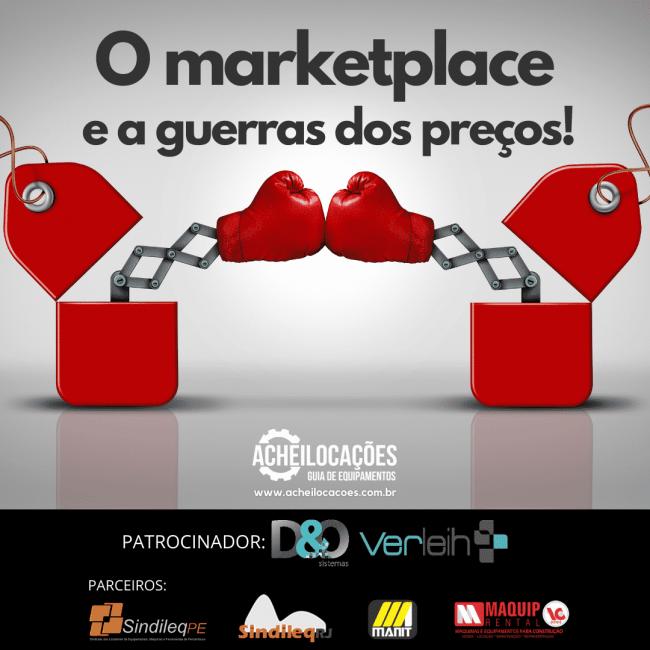 O marketplace e a guerra dos preços!