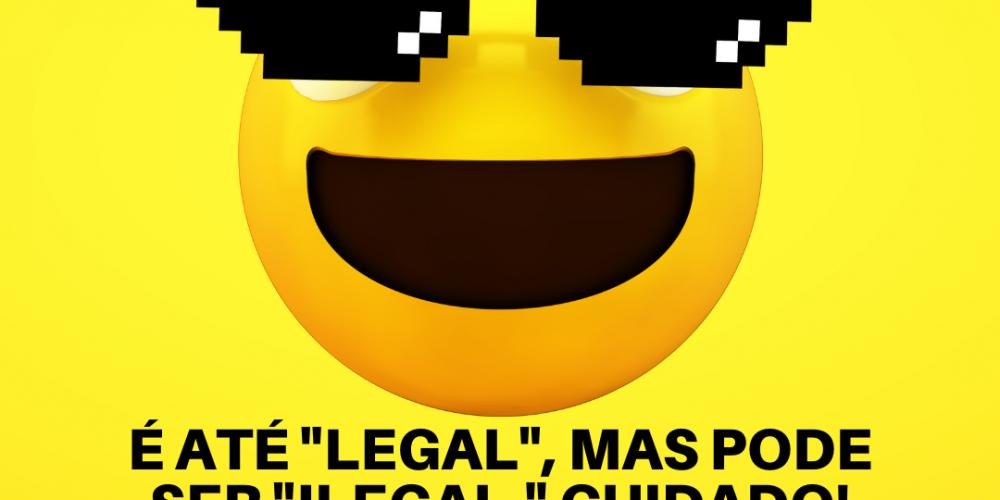 Usar MEME em minha publicação é ilegal?